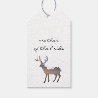 Majestic Deer Wedding Escort Card