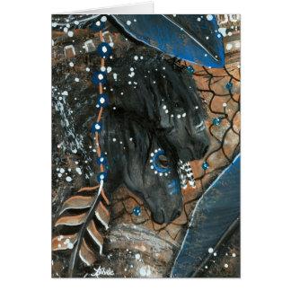 Majestic DreamCatcher Horses by BiHrLe Card