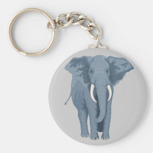 Majestic Elephant Keychain