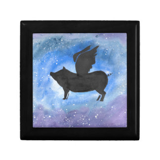 Majestic Flying Pig Gift Box