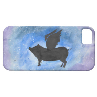 Majestic Flying Pig iPhone 5 Cases