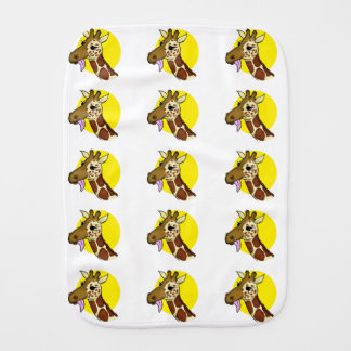 Majestic Giraffe Burp Cloth