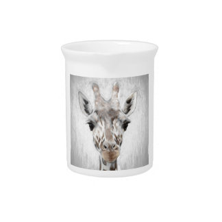 Majestic Giraffe Portrayed multiproduct selected Beverage Pitchers