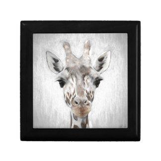 Majestic Giraffe Portrayed multiproduct selected Gift Box