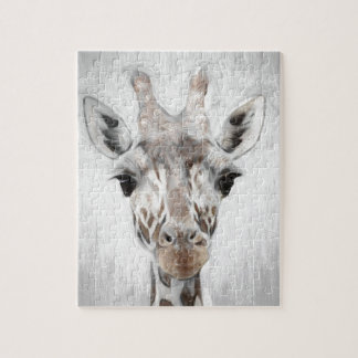 Majestic Giraffe Portrayed multiproduct selected Jigsaw Puzzle