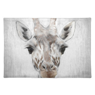 Majestic Giraffe Portrayed multiproduct selected Placemat