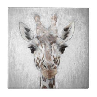 Majestic Giraffe Portrayed multiproduct selected Tile
