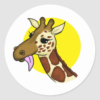 Majestic Giraffe Sticker
