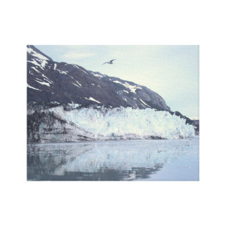 Majestic Glacier Environmental AlaskanPhotography Canvas Print