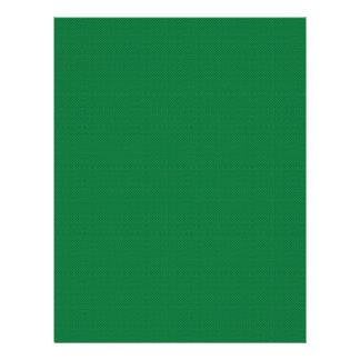 Majestic green flowers on dark green background 21.5 cm x 28 cm flyer