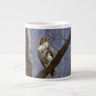 Majestic Hawk Giant Coffee Mug