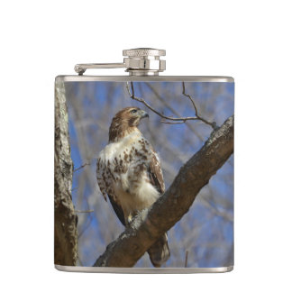 Majestic Hawk Hip Flask