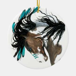 Majestic Horse Christmas Ornament by Bihrle