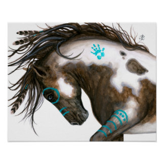 Majestic Horse Poster Art by Bihrle