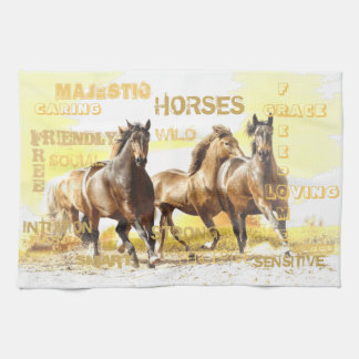 Majestic Horses Kitchen Towel