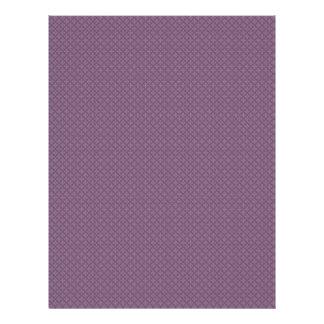 Majestic light purple flowers on rough purple back flyer