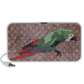 Majestic Macaw Doodle Speaker