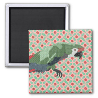 Majestic Macaw Magnet