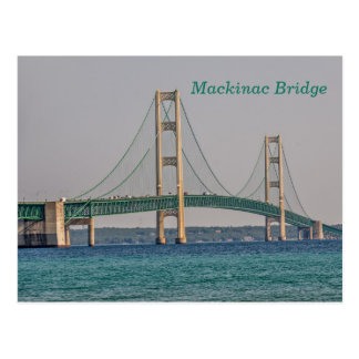 Majestic Mackinac Bridge Postcard