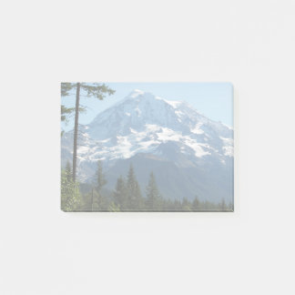 Majestic Mount Rainier Photo Post-it Notes