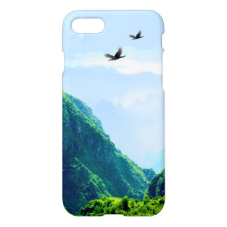 Majestic Mountain Custom iPhone 7 Glossy Case