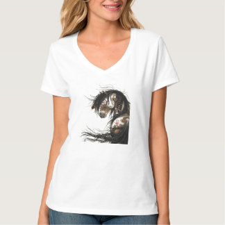 Majestic Mustang Horse T-shirt by BiHrLe