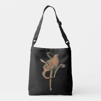 Majestic Octopus Cross Body Bag