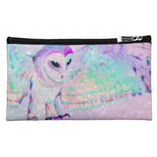 Majestic Owl Makeup Bag