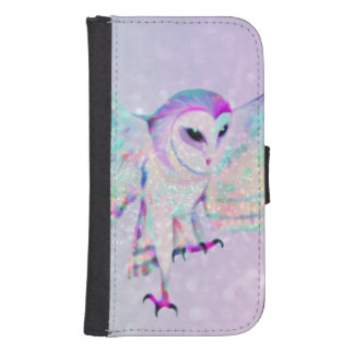 Majestic Owl Samsung S4 Wallet Case