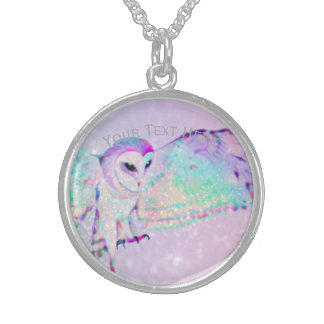 Majestic Owl Sterling Silver Necklace