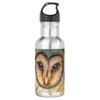 Majestic Owl Water Bottle 532 Ml Water Bottle