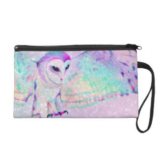 Majestic Owl Wristlet