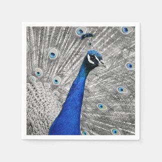 Majestic Peacock Disposable Napkin