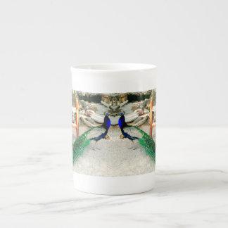 Majestic Peacock - Teacup Tea Cup
