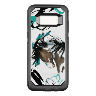 Majestic Pinto Horse Cell Case by Bihrle