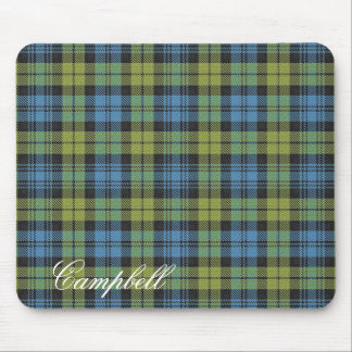 Majestic Scottish Campbell Family Tartan Mouse Pad