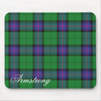 Majestic Scottish Clan Armstrong Tartan Mouse Pad