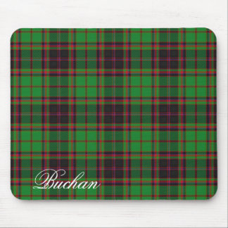 Majestic Scottish Clan Buchan Tartan Mouse Pad