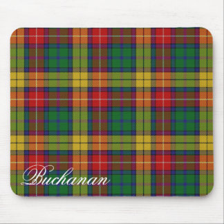 Majestic Scottish Clan Buchanan Tartan Mouse Pad