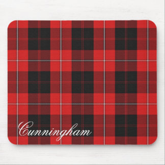 Majestic Scottish Clan Cunningham Tartan Mouse Pad