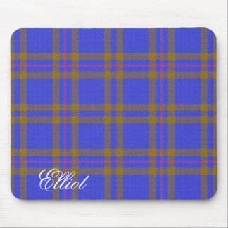 Majestic Scottish Clan Elliot Tartan Mouse Pad
