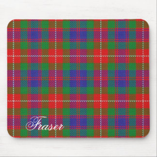 Majestic Scottish Clan Fraser of Lovat Tartan Mouse Pad