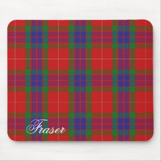 Majestic Scottish Clan Fraser Tartan Mouse Pad