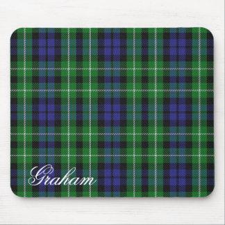 Majestic Scottish Clan Graham Tartan Mouse Pad