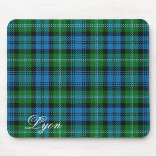 Majestic Scottish Clan Lyon Tartan Mouse Pad