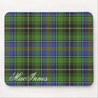 Majestic Scottish Clan MacInnes Tartan Mouse Pad