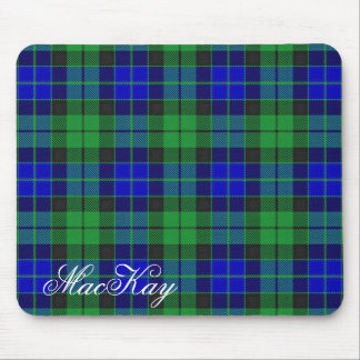Majestic Scottish Clan MacKay Tartan Mouse Pad