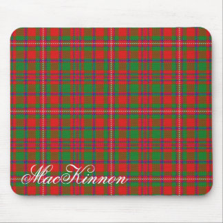 Majestic Scottish Clan MacKinnon Tartan Mouse Pad