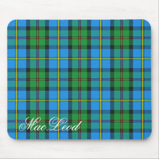 Majestic Scottish Clan MacLeod of Harris Tartan Mouse Pad