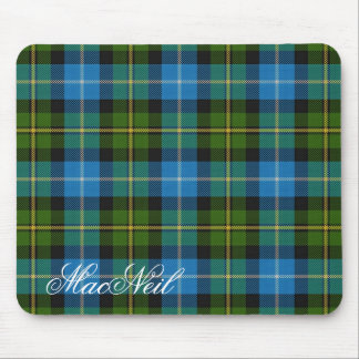 Majestic Scottish Clan MacNeil Tartan Mouse Pad